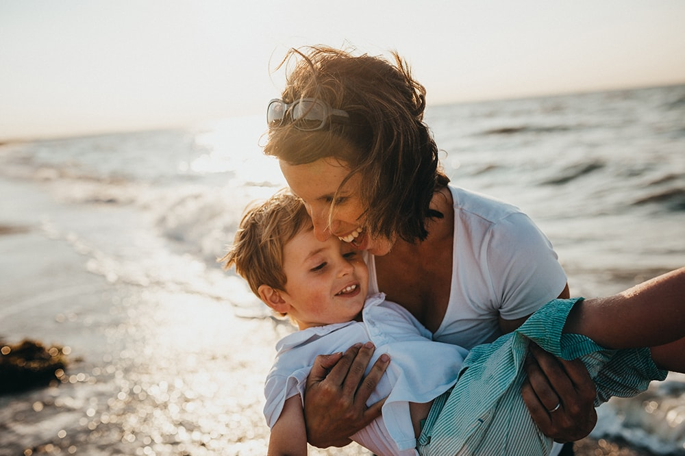 family coaching the mind of child